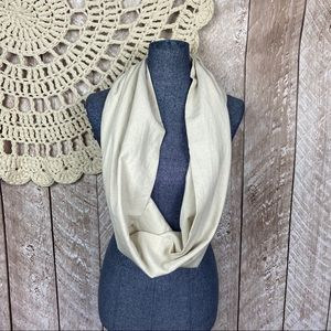 Accessories - Small Batch Textile Handmade Linen Circle Scarf